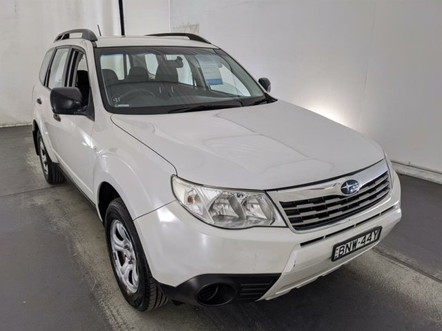 Used Subaru Forester S3 MY10 X AWD Maryville, 2010 Subaru Forester S3 MY10 X AWD White 4 Speed Sports Automatic Wagon