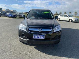 2010 Holden Captiva CG MY10 SX (FWD) Black 5 Speed Automatic Wagon.