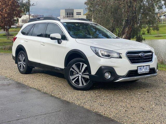 Used Subaru Outback B6A MY18 2.5i CVT AWD Wodonga, 2018 Subaru Outback B6A MY18 2.5i CVT AWD White 7 Speed Constant Variable Wagon