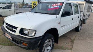 2000 Holden Rodeo TFR9 LT White 4 Speed Automatic Crew Cab Pickup.