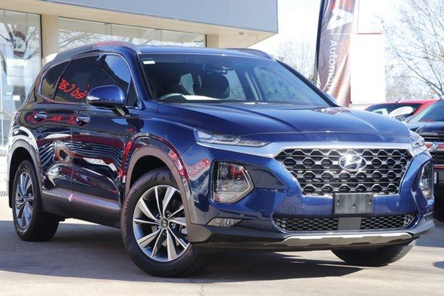 Used Hyundai Santa Fe TM MY19 Elite Toowoomba, 2019 Hyundai Santa Fe TM MY19 Elite Blue 8 Speed Sports Automatic Wagon