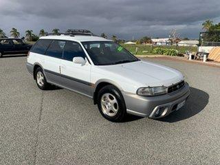 1997 Subaru Outback White 5 Speed Manual Wagon.