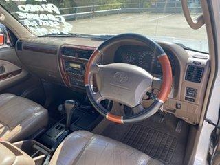 2000 Toyota Landcruiser Prado VZJ95R Grande (4x4) Silver 4 Speed Automatic 4x4 Wagon