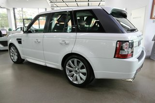 2012 Land Rover Range Rover Sport L320 12MY SDV6 Luxury White 6 Speed Sports Automatic Wagon