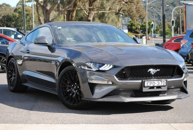 Used Ford Mustang FN 2018MY GT Fastback SelectShift West Gosford, 2018 Ford Mustang FN 2018MY GT Fastback SelectShift Grey 10 Speed Sports Automatic Fastback