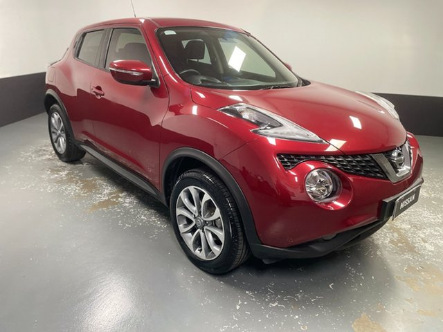 Used Nissan Juke F15 Series 2 ST X-tronic 2WD Raymond Terrace, 2017 Nissan Juke F15 Series 2 ST X-tronic 2WD Red 1 Speed Constant Variable Hatchback