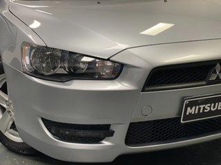 2014 Mitsubishi Lancer CJ MY15 LS Silver 5 Speed Manual Sedan.
