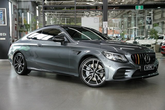 Used Mercedes-Benz C-Class C205 800+050MY C43 AMG 9G-Tronic 4MATIC North Melbourne, 2020 Mercedes-Benz C-Class C205 800+050MY C43 AMG 9G-Tronic 4MATIC Grey 9 Speed Sports Automatic