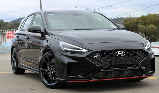 New Hyundai i30 Pde.v4 MY22 N D-CT Ferntree Gully, 2021 Hyundai i30 Pde.v4 MY22 N D-CT Phantom Black 8 Speed Sports Automatic Dual Clutch Hatchback