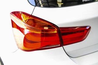 2017 BMW 118i F20 LCI MY17 Sport Line White 8 Speed Automatic Hatchback