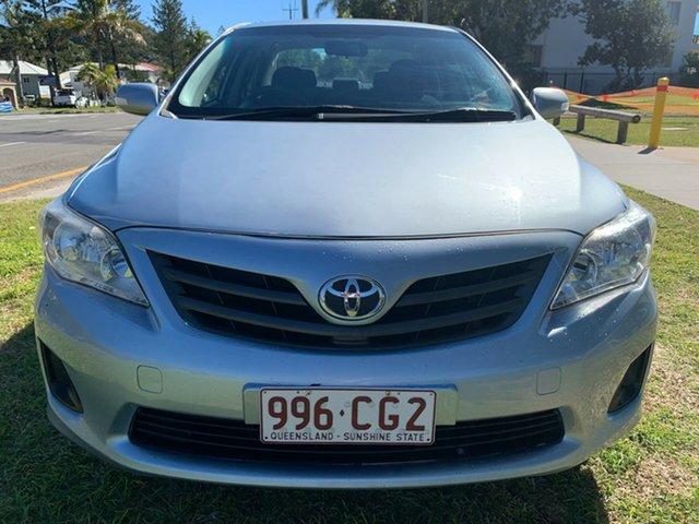 Used Toyota Corolla ZRE152R MY11 Ascent Tugun, 2012 Toyota Corolla ZRE152R MY11 Ascent Blue 4 Speed Automatic Sedan