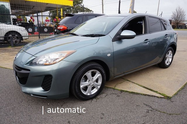 Used Mazda 3 BL10F2 MY13 Neo Activematic Dandenong, 2012 Mazda 3 BL10F2 MY13 Neo Activematic Dolphin Grey 5 Speed Sports Automatic Hatchback