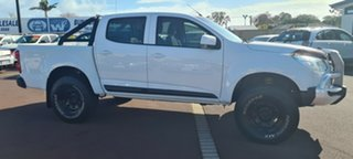 2014 Holden Colorado RG MY15 LS Crew Cab White 6 Speed Sports Automatic Utility