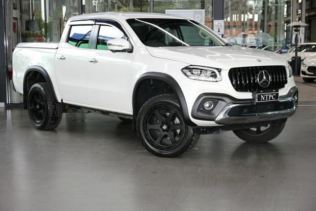 Used Mercedes-Benz X-Class 470 X250d 4MATIC Power North Melbourne, 2019 Mercedes-Benz X-Class 470 X250d 4MATIC Power White 7 Speed Sports Automatic Utility