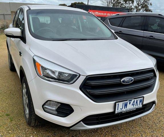 Used Ford Escape Cobram, 2017 Ford Escape White SUV