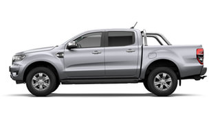 2021 Ford Ranger PX MkIII XLT Double Cab Aluminium Silver 6 Speed Automatic Double Cab Pick Up