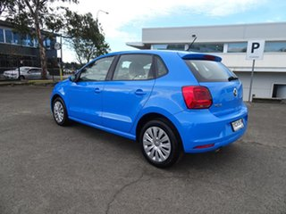 2014 Volkswagen Polo 6R MY15 66TSI Trendline Cornflower Blue 5 Speed Manual Hatchback.