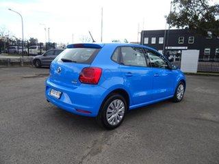 2014 Volkswagen Polo 6R MY15 66TSI Trendline Cornflower Blue 5 Speed Manual Hatchback