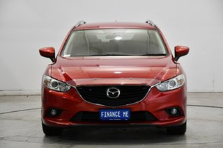 2014 Mazda 6 GJ1031 MY14 Sport SKYACTIV-Drive Soul Red 6 Speed Sports Automatic Wagon.