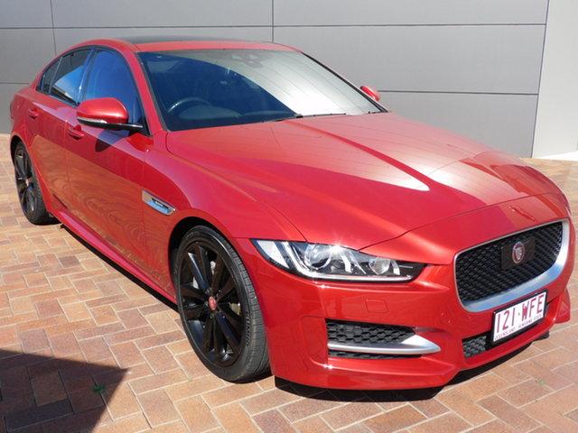 Used Jaguar XE X760 MY16 20d R-Sport Toowoomba, 2015 Jaguar XE X760 MY16 20d R-Sport Red 8 Speed Sports Automatic Sedan