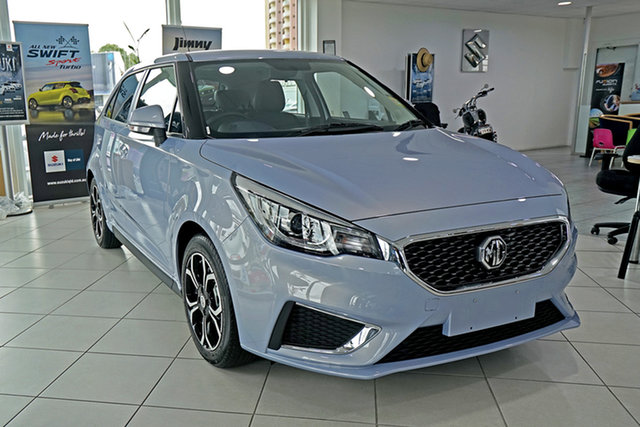 New MG MG3 SZP1 MY21 Excite Springwood, 2021 MG MG3 SZP1 MY21 Excite Silver 4 Speed Automatic Hatchback