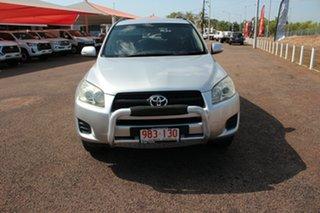 2010 Toyota RAV4 ACA33R MY09 Altitude Silver Pearl 5 Speed Manual Wagon.