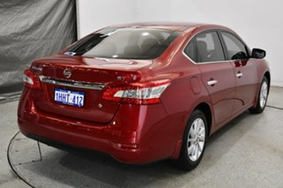 2016 Nissan Pulsar B17 Series 2 ST Cayenne Red 1 Speed Constant Variable Sedan