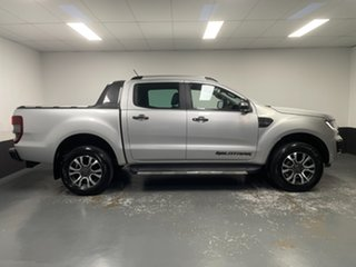 2018 Ford Ranger PX MkIII 2019.00MY Wildtrak Silver 10 Speed Sports Automatic Utility