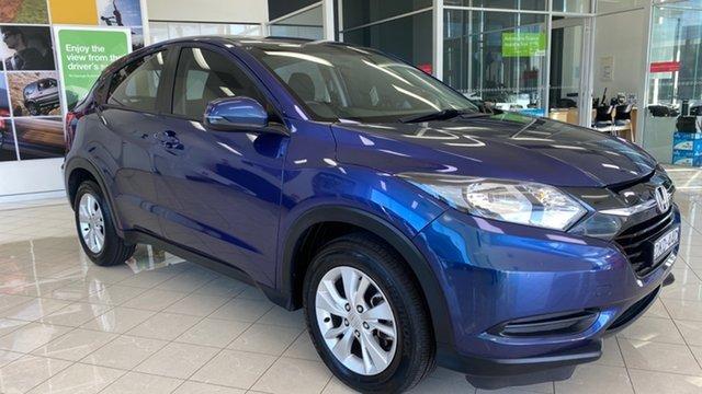 Used Honda HR-V MY15 VTi Cardiff, 2015 Honda HR-V MY15 VTi Blue 1 Speed Constant Variable Hatchback