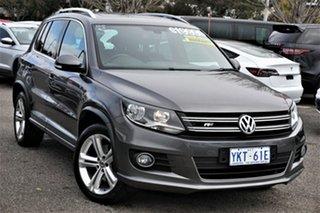 2015 Volkswagen Tiguan 5N MY16 130TDI DSG 4MOTION Grey 7 Speed Sports Automatic Dual Clutch Wagon.