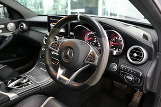 2017 Mercedes-Benz C-Class W205 807+057MY C63 AMG SPEEDSHIFT MCT S Silver 7 Speed Sports Automatic.