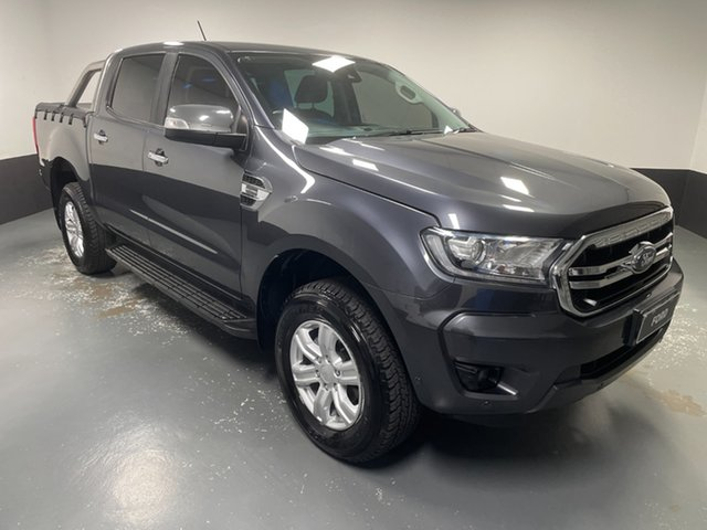 Used Ford Ranger PX MkIII 2019.00MY XLT Hamilton, 2019 Ford Ranger PX MkIII 2019.00MY XLT Grey 10 Speed Sports Automatic Double Cab Pick Up