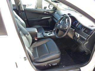 2015 Toyota Camry ASV50R Atara SL White 6 Speed Sports Automatic Sedan