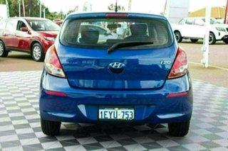 2015 Hyundai i20 PB MY15 Active Blue 6 Speed Manual Hatchback.