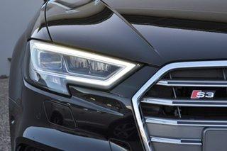 2019 Audi S3 8V MY20 Sportback S Tronic Quattro Black 7 Speed Sports Automatic Dual Clutch Hatchback.