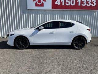 2019 Mazda 3 BN5438 SP25 SKYACTIV-Drive Astina White 6 Speed Sports Automatic Hatchback