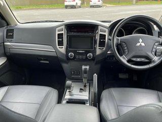 2019 Mitsubishi Pajero White Automatic Wagon.