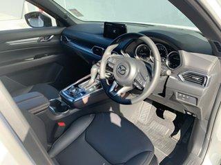 2021 Mazda CX-8 KG2WLA Touring SKYACTIV-Drive FWD Snowflake White 6 Speed Sports Automatic Wagon