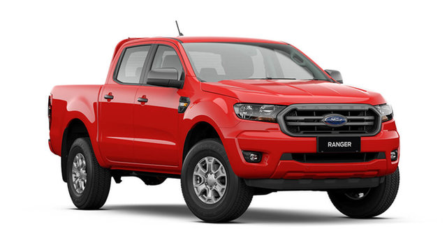 New Ford Ranger PX MkIII 2021.25MY XLS Rutherford, 2021 Ford Ranger PX MkIII XLS True Red 6 Speed Automatic Double Cab Pick Up