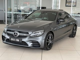 2018 Mercedes-Benz C-Class C205 809MY C43 AMG 9G-Tronic 4MATIC Grey 9 Speed Sports Automatic Coupe.