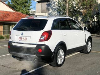2014 Holden Captiva CG MY15 5 LT White 6 Speed Sports Automatic Wagon.