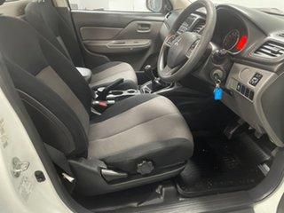 2016 Mitsubishi Triton MQ MY17 GLX 4x2 White 5 Speed Manual Cab Chassis