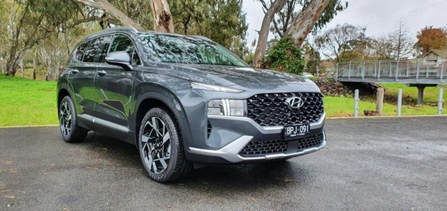 Demo Hyundai Santa Fe Tm.v3 MY21 Elite DCT Epsom, 2021 Hyundai Santa Fe Tm.v3 MY21 Elite DCT Rain Forest 8 Speed Sports Automatic Dual Clutch Wagon