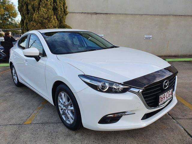 Used Mazda 3 BM5278 Touring SKYACTIV-Drive Toowoomba, 2016 Mazda 3 BM5278 Touring SKYACTIV-Drive White 6 Speed Sports Automatic Sedan