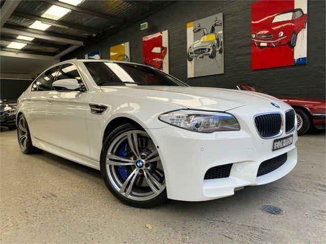 Used BMW M5 F10 Glebe, 2012 BMW M5 F10 Alpine White Sports Automatic Dual Clutch Sedan