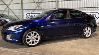 2008 Mazda 6 GH1051 Limited Blue 6 Speed Manual Sedan.