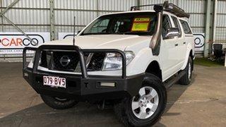 2006 Nissan Navara D40 ST-X White 5 Speed Automatic Utility.
