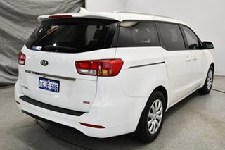 2017 Kia Carnival YP MY18 S Clear White 6 Speed Sports Automatic Wagon