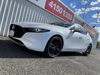 2019 Mazda 3 BN5438 SP25 SKYACTIV-Drive Astina White 6 Speed Sports Automatic Hatchback.