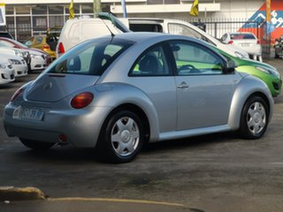 2002 Volkswagen Beetle 9C MY2002.5 Coupe Silver 4 Speed Automatic Liftback.